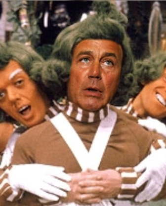 Despite numerous warnings from the Surgeon General that continued use of tanning sprays would only make him look like more of a douche, Boehner vowed to continue using his products.