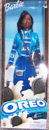 Oreo Barbie by Mattel