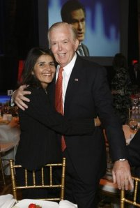 Lou Dobbs and Wife Debi Lee Segura