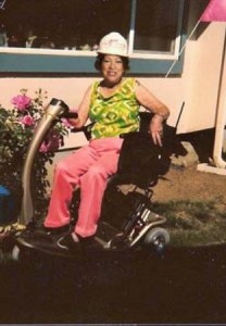 Justice Sotomayor said as a Hispanic Woman she loved the Scooter's comfortable seat.