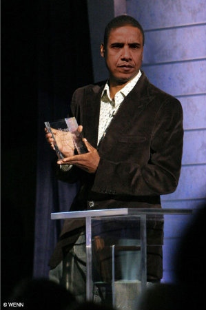 Obama received an honorary Cable Ace award.