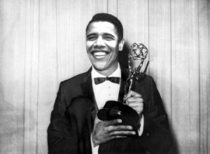 Obama became the first US President to pull down an Emmy. In your face Reagan!