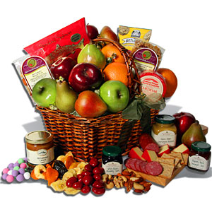 The lovely fruit basket Obama sent Iran's Mahmoud Ahmadinejad recently.