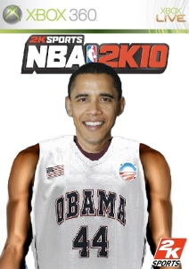 Video game manufacturer 2K Sports now plans on featuring Obama on the cover of its NBA 2K10 video game.