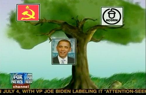 O'Reilly communist tree